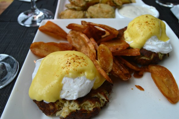 Scion Crab Cake Benedict