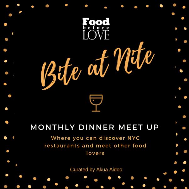 nyc dinner meetup