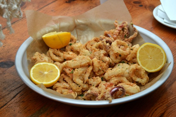 Eataly Sabbia Calamari