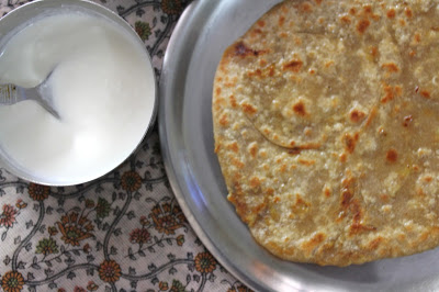 gobi paratha,cauliflower stuffed flatbread,stuffed paratha