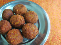 mutton kola urundai, spiced fried mutton balls