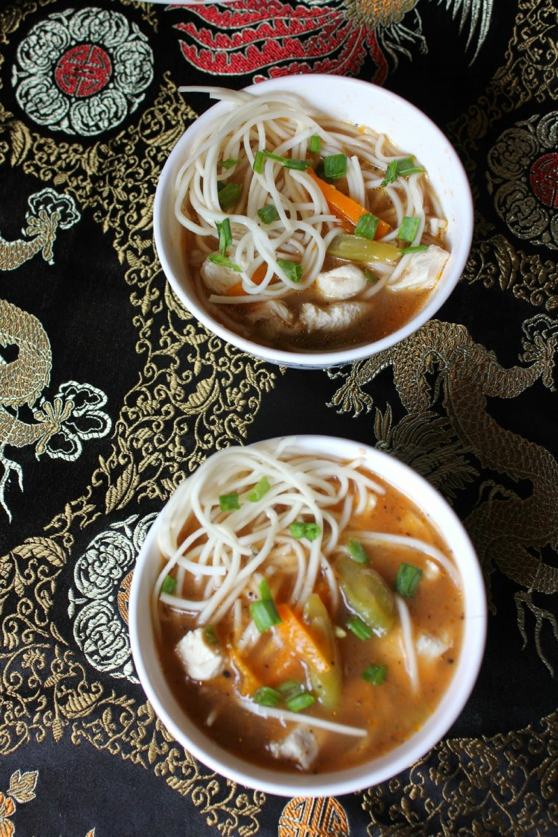 Thukpa – Himalayan Noodle soup