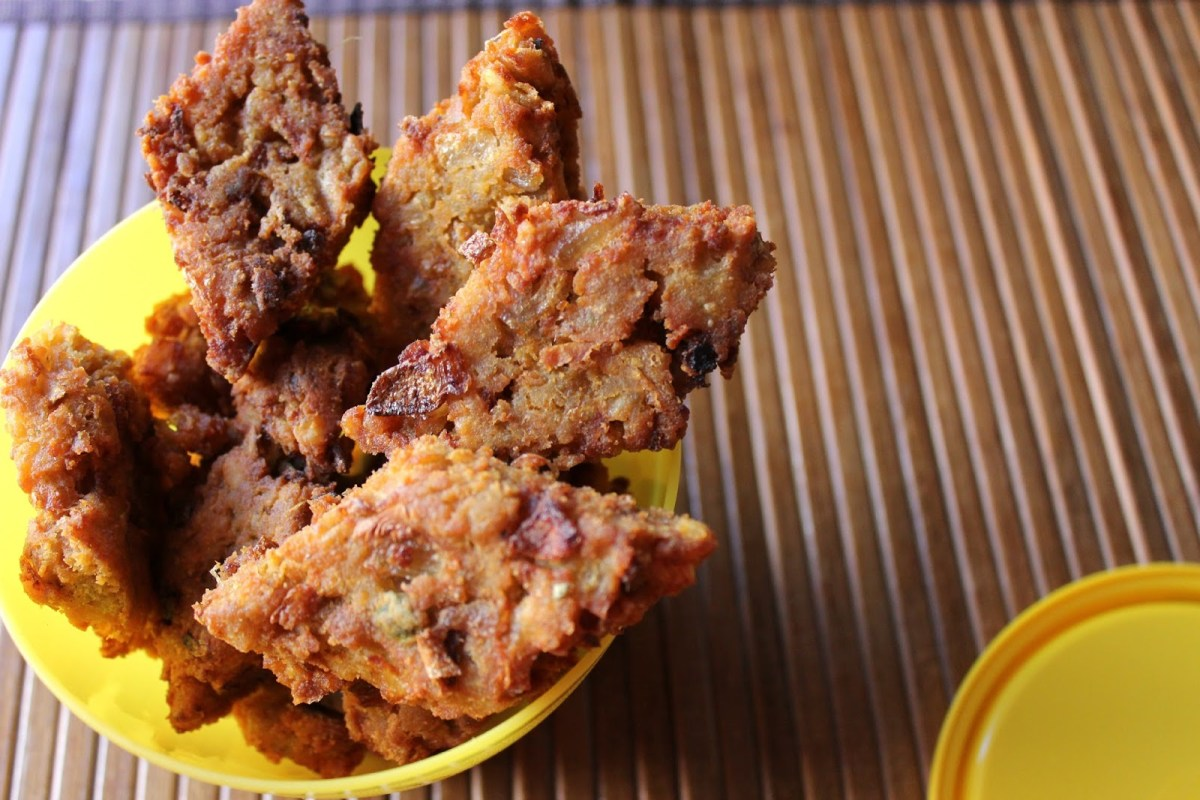 Badeel - Fried Lentil bars from Uttarakhand