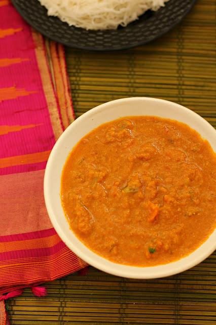 Vegetable kurma restaurant style2