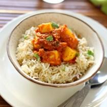 Paneer rice bowl