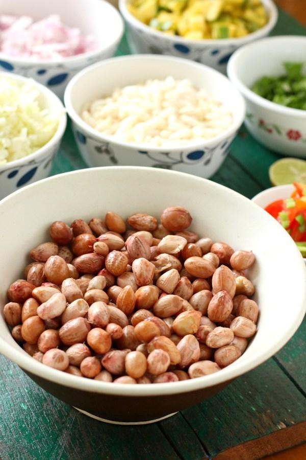 masala kadalai - Boiled peanut salad
