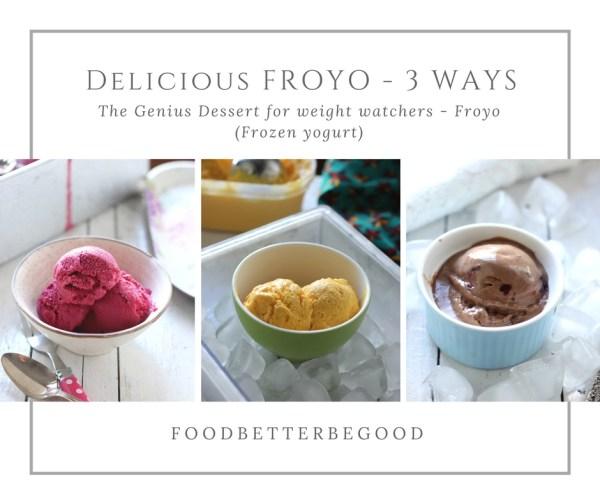 Delicious FROYO - 3 WAYS