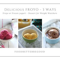 Delicious FROYO - 3 gorgeous flavours