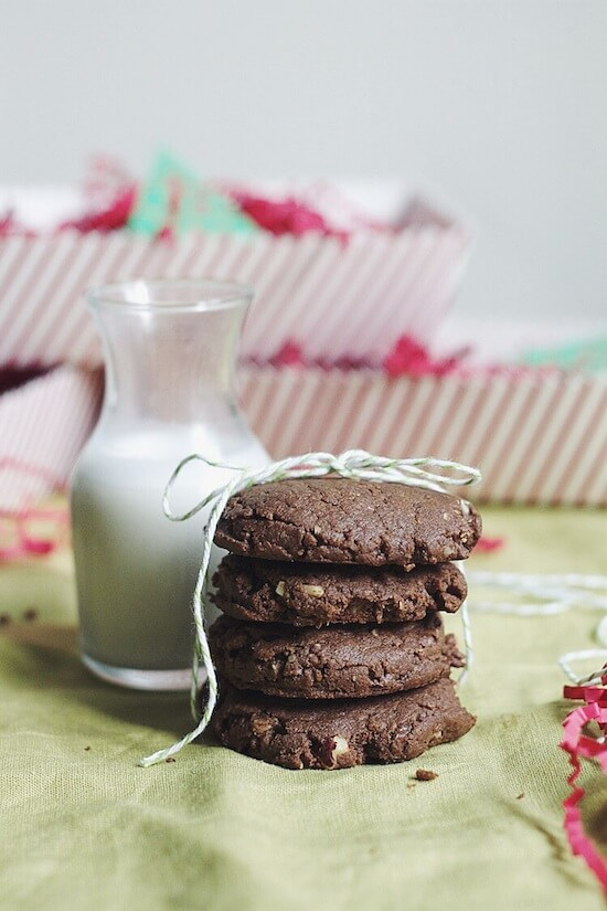 Flourless Chocolate Hazelnut Cookies via Food by Mars (gluten-free)