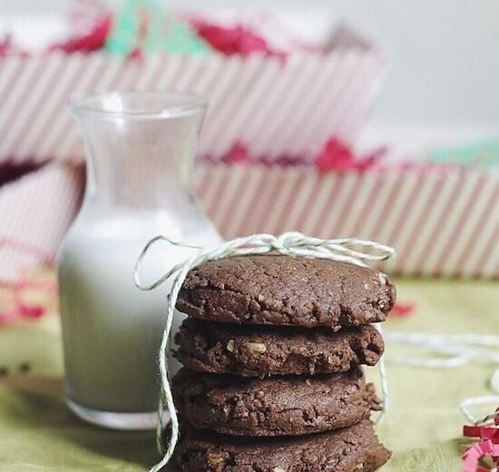 Flourless Chocolate Hazelnut Cookies via Food by Mars (gluten-free)