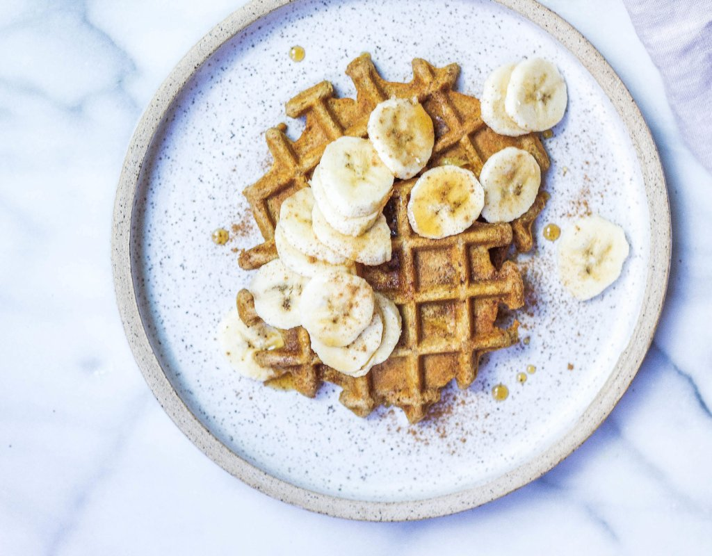 Paleo Tigernut Waffles (AIP-friendly, Egg-free, Vegan)