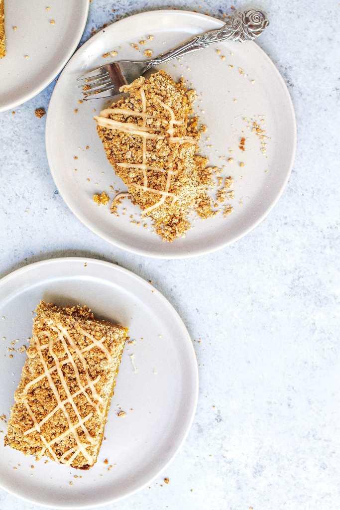 AIP Pumpkin Pie Crumb Bars (paleo, vegan, refined sugar-free, gluten-free) via Food by Mars