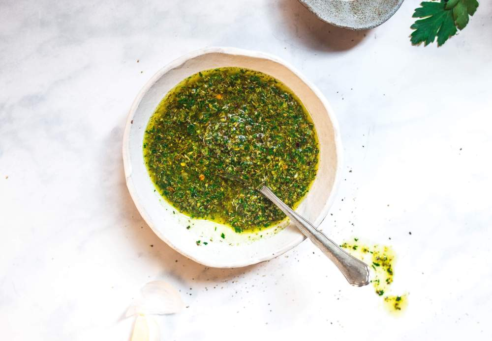 easy chimichurri sauce (paleo, gluten-free, vegan, aip-friendly) via Food by Mars