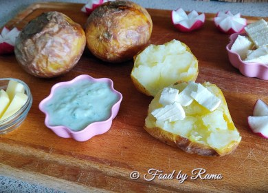 Cartofi copți în cuptor