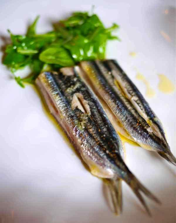 Etxebarri grilled anchovy