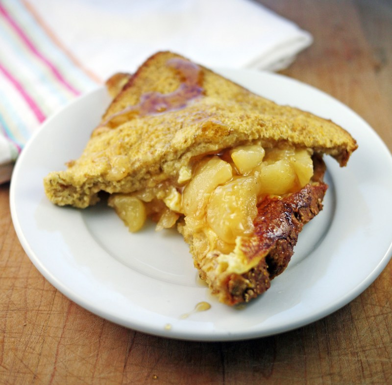 Baked French Toast with Apples