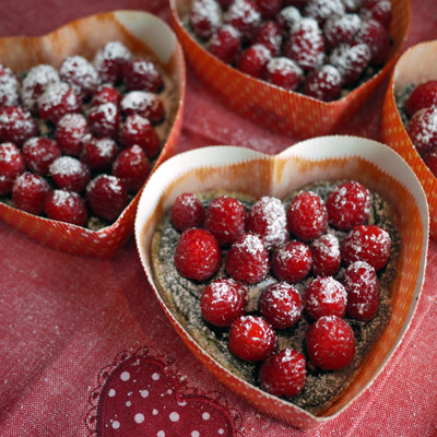 Gluten Free Raspberry Chocolate Heart Tart Recipe