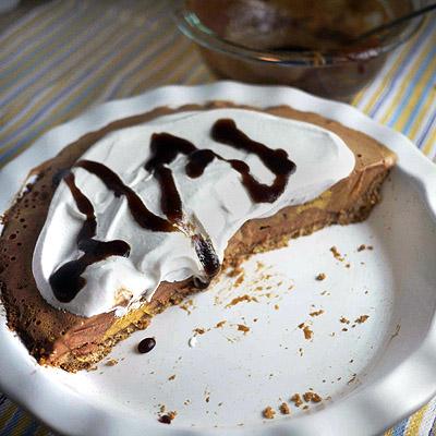 Caramel Coconut Cookie Ice Cream Pie