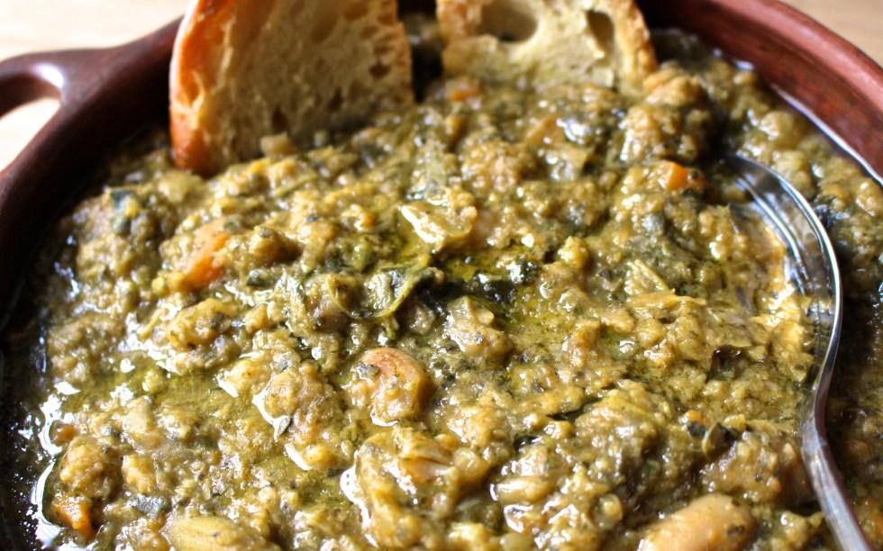Ribollita - Kale soup
