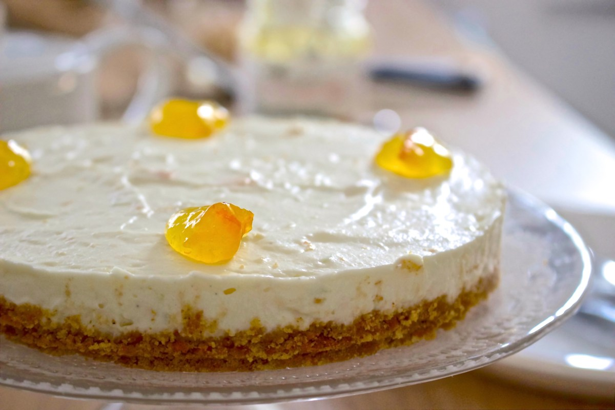 Cheesecake with Bitter Orange Marmalade