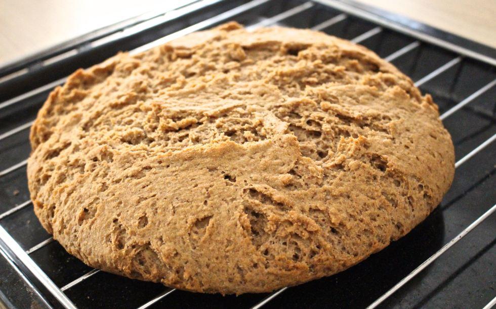 Kamut + Spelt bread is ready