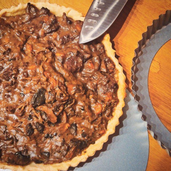 Beef pie filling