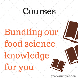 FoodCrumbles - Courses - bundling our food science knowledge