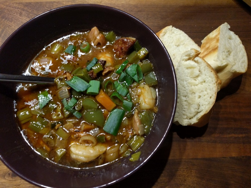 New Orleans Gumbo – flexible & packed with flavour