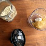 making almond paste