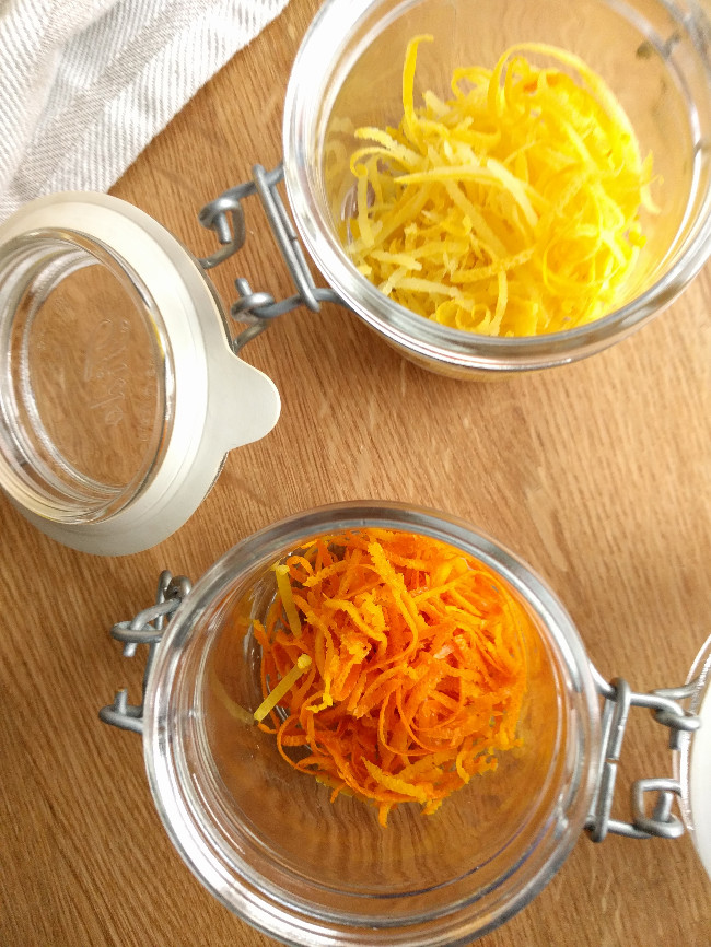 Orange and lemon zest extract – Alcohol extraction