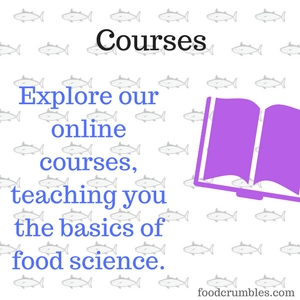 Want to learn more about food science? Check out the courses from foodcrumbles.com, helping you get started to improve your food through science.