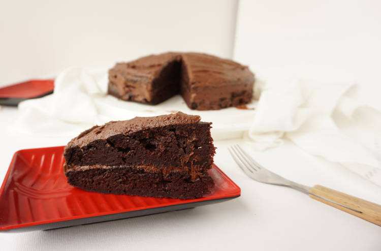Why zucchini makes a moist chocolate cake