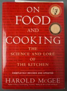 On Food and Cooking - science book