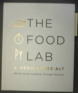 The Food Lab - science book