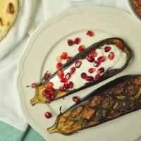 Grilled eggplant (dip)