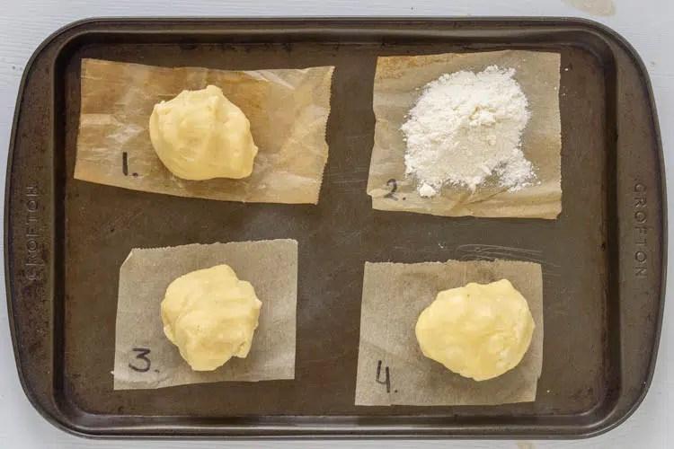 sohrtbread dough comparisons