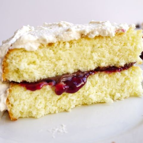 Genoise cake