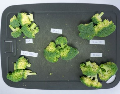 broccoli just before being cooked in several way
