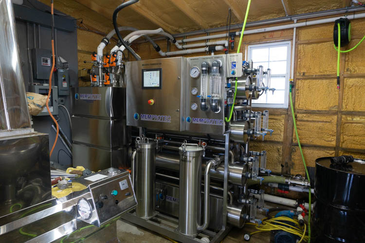 reverse osmosis for maple syrup