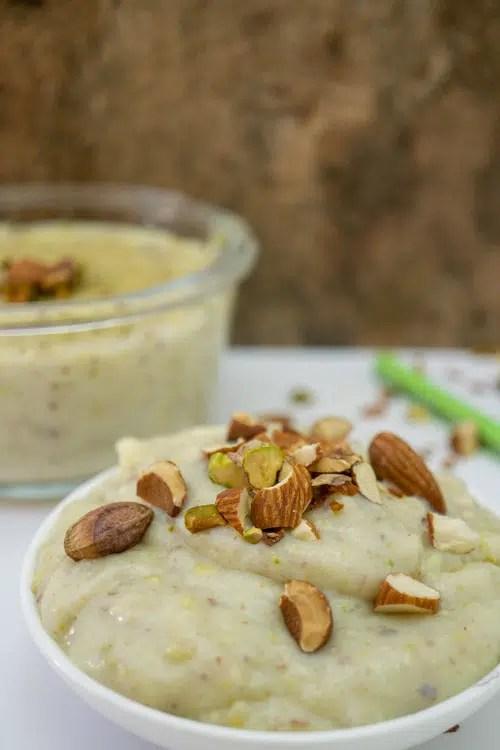 almond rice pudding