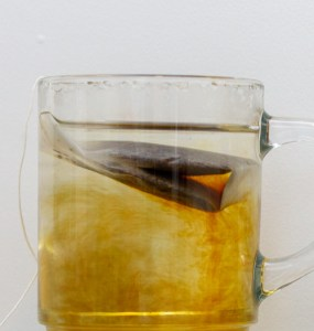 steeping tea