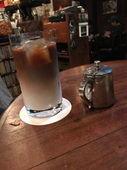 Iced Latte   Dug Coffee & Jazz Bar