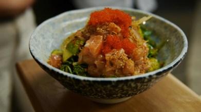 salmon ponzu