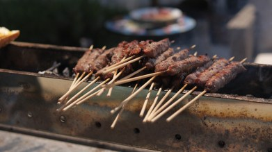 D'Abruzzo food curated lamb skewers