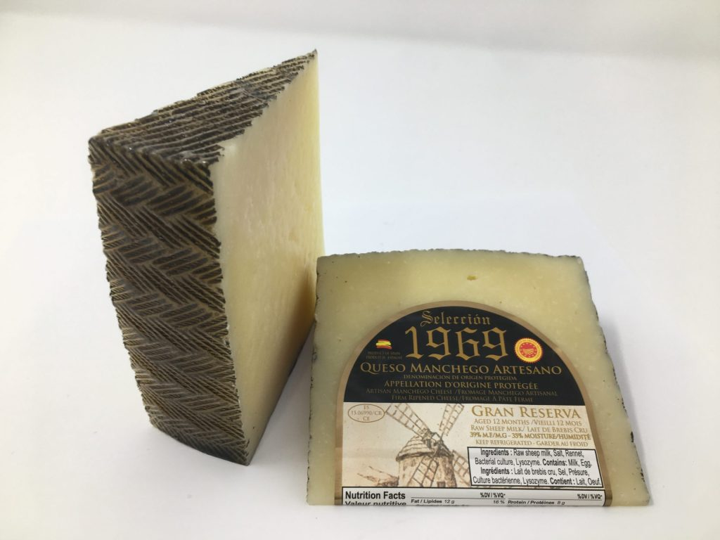 Selection1969 Queso Manchego Raw Sheep Milk Cheese