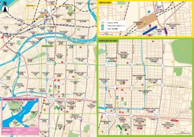 Osaka Map For Muslims Has Been Finally Released Enjoy Osaka