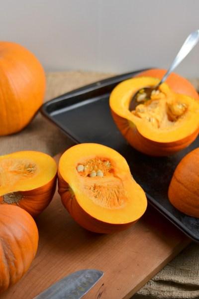 Homemade Thick Pumpkin Puree Image