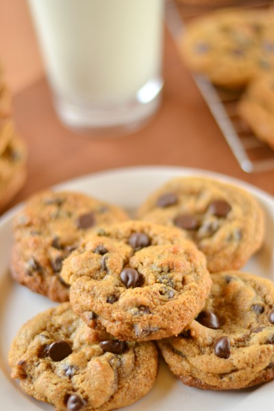 Whole Wheat Chocolate Chip Cookies Image