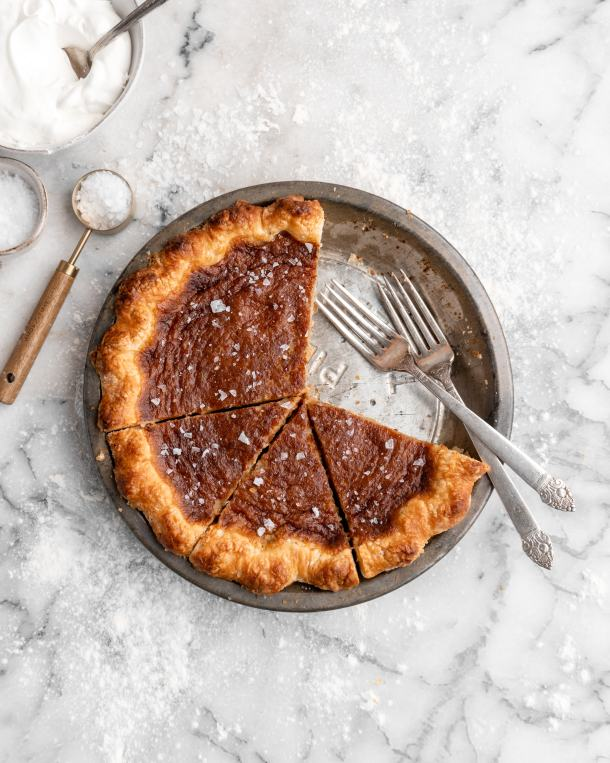 Rich and creamy French Canadian Sugar Pie