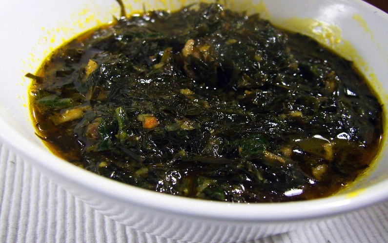 How is Afang Soup Prepared?